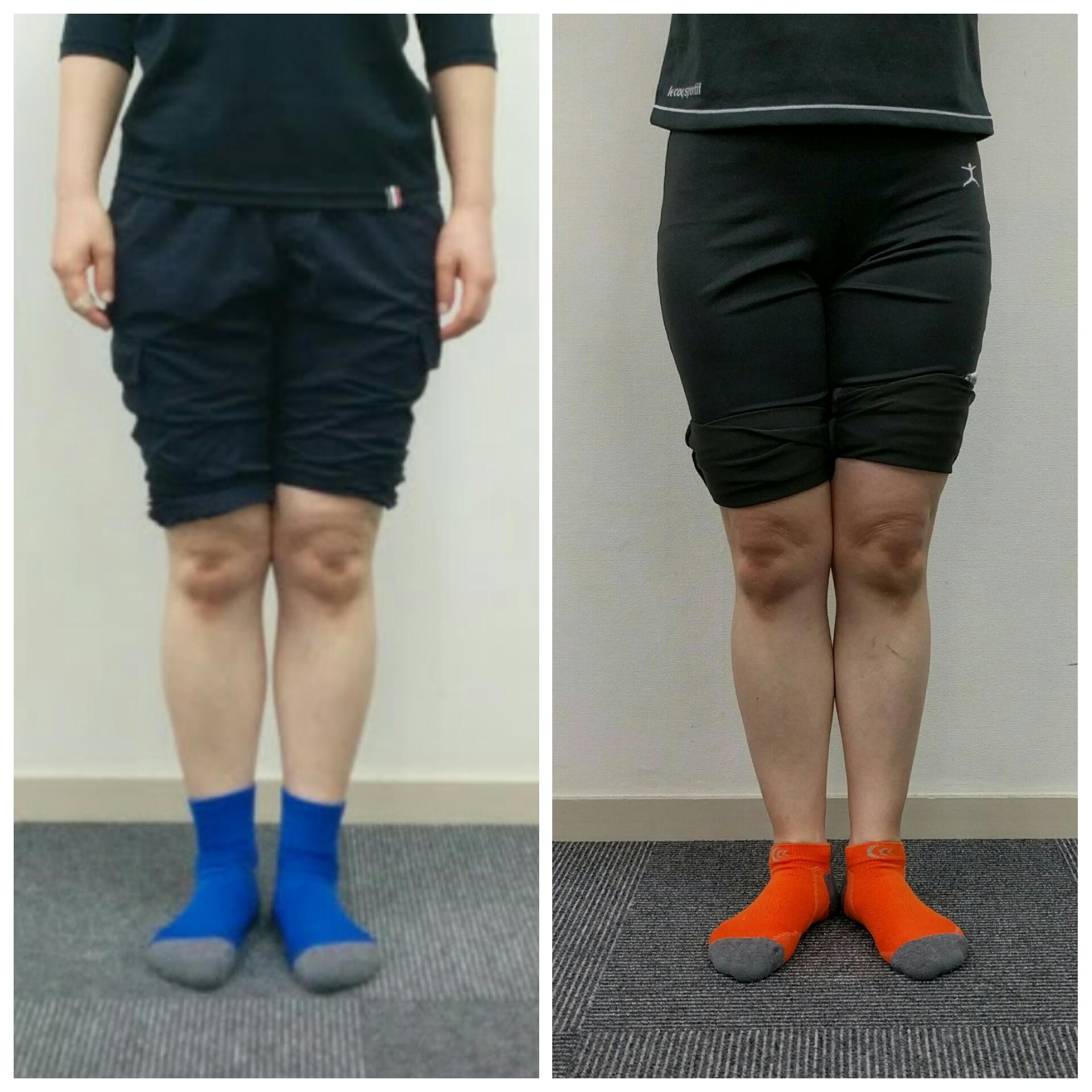 筋トレやめたら脚が細くなりました。